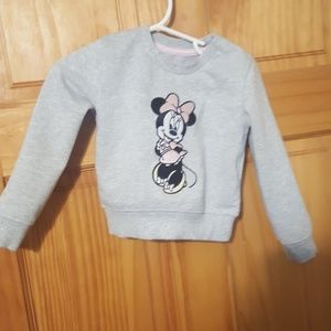 Disney Baby Minnie Mouse Sweater Size 9-12 M